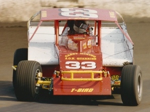 """""""The Jeffer"""" came within 5 car lengths of winning the 1997 Syracuse 200 Championship."""