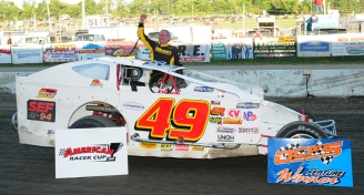 """The Jeffer"" takes the Bob Dini 49er to victory lane at OCFS."