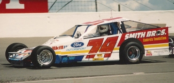 """The Jeffer"" in the sharp looking #74 asphalt series car."