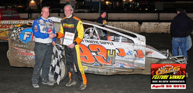 """The Jeffer"" captures OCFS Modified win #47 aboard the Hollywood Racing #93H."