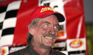 """""""The Jeffer"""" is all smiles in victory lane after capturing the elusive Eastern States Championship."""