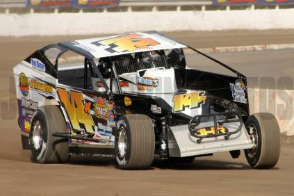 The Jeffer Jeff Heotzler at the Syracuse Mile on Thursday's practice