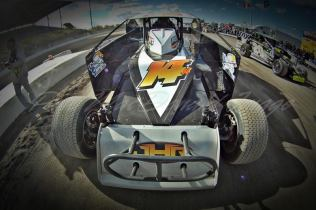 The Jeffer Jeff Heotzler waits on line for practice during Super Dirt Week XLII