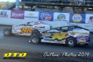 The Jeffer Jeff Heotzler and Eddie Marshall set sail down the front chute at Syracuse