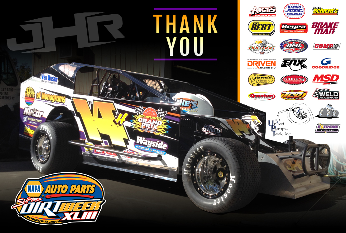 The Jeffer Jeff Heotzler 14H SUPER DIRT WEEK 2014 Syracuse, NY