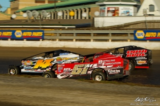 The Jeffer Jeff Heotzler battles Dom Buffalino and Tim Fuller in the Syracuse 200