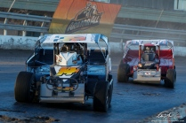 The Jeffer Jeff Heotzler battles Dom Buffalino in the Syracuse 200