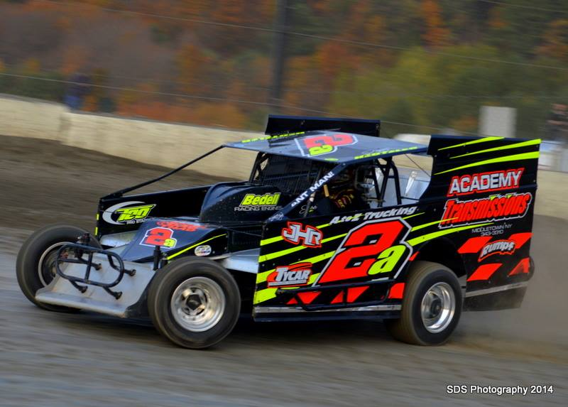 Jeff Heotzler at i88 Speedway in Afton, NY.