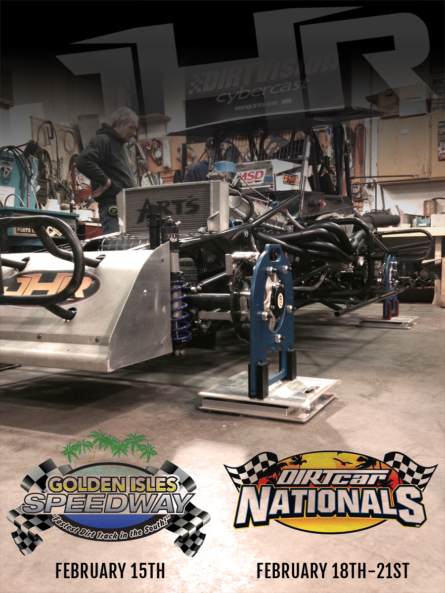 Jeff Heotzler to compete in the 2015 DIRTCar Nationals at the Volusia Speedway!