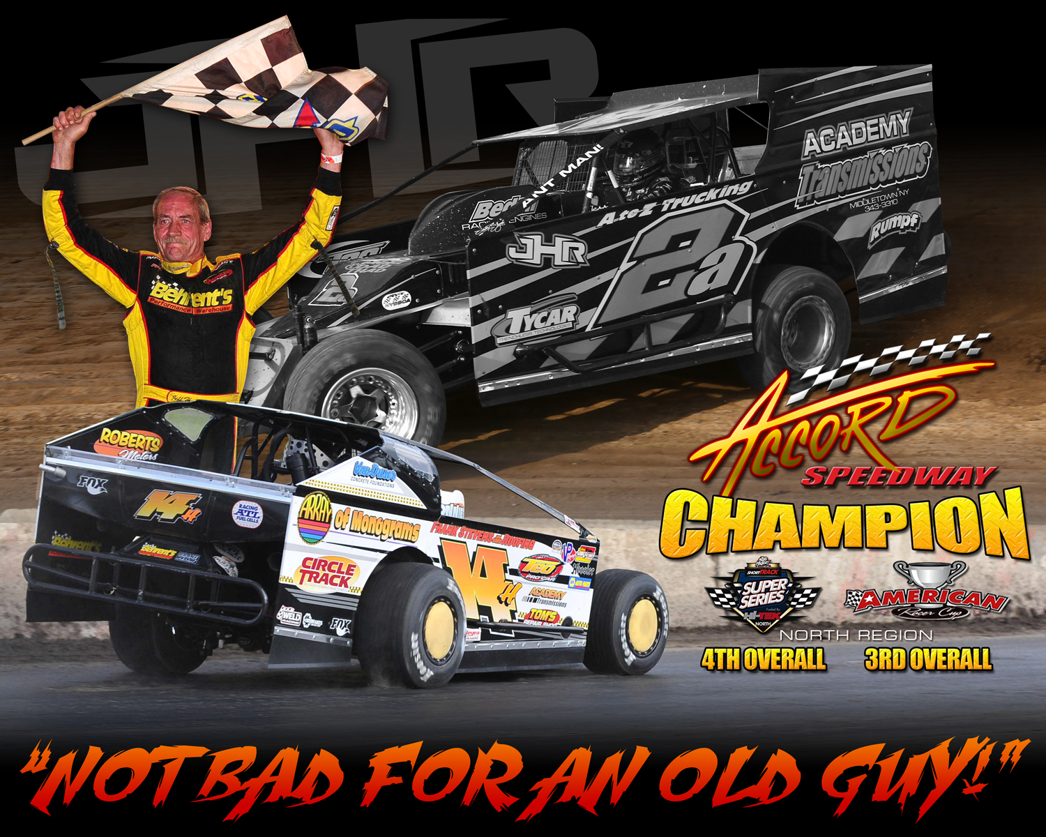 The Jeffer Jeff Heotzler completes a successful 2015 season that included 4 wins and his 5th Accord Speedway Track Championship!