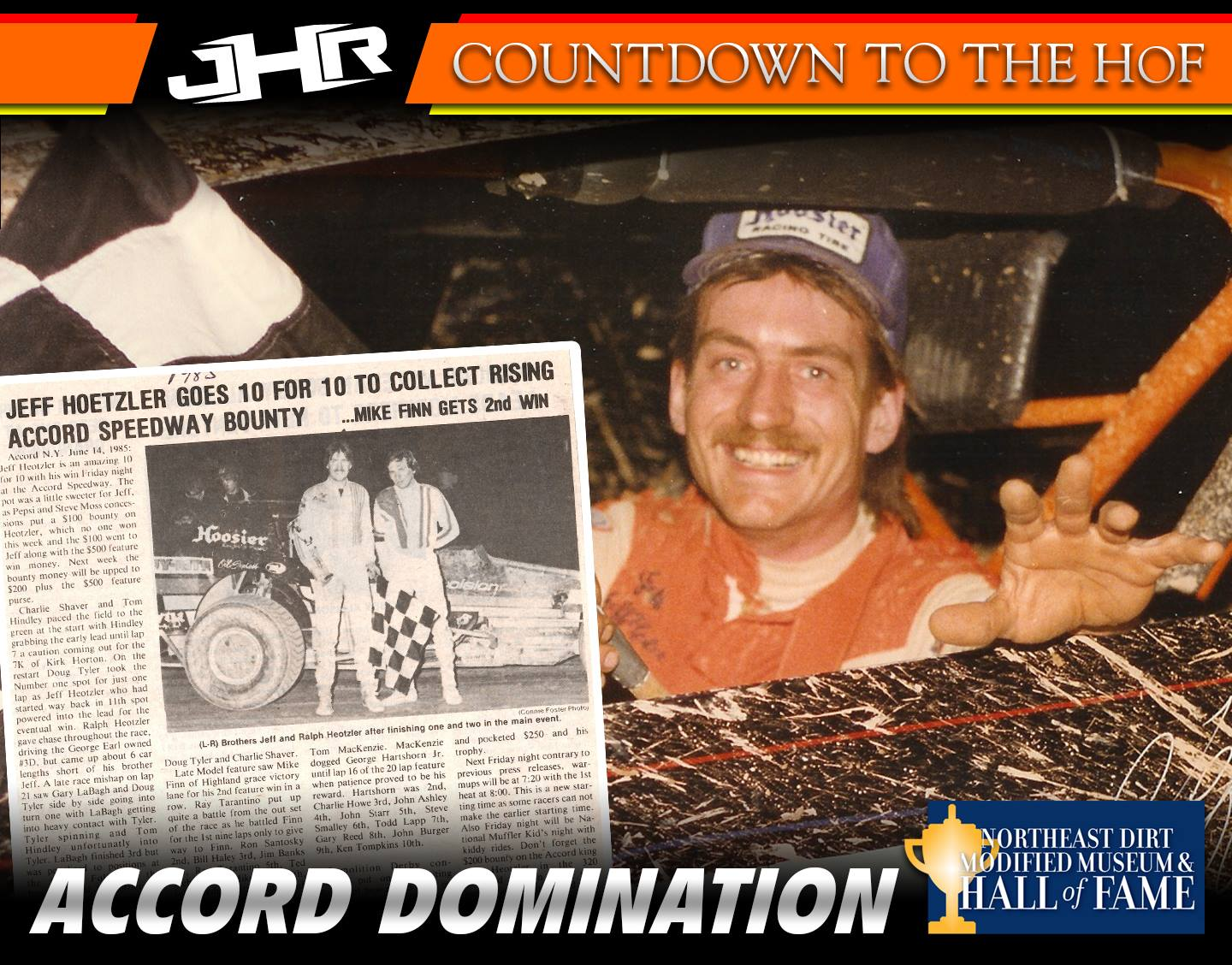 Jeff Heotzler Dirt Modified Hall of Fame - Accord Speedway Dominance 1983-1986