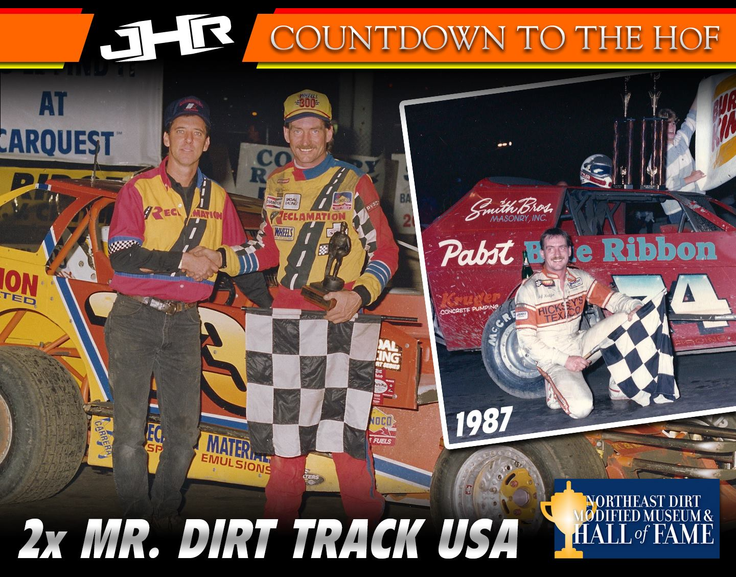 Jeff Heotzler - Dirt Modified Hall of Fame - 2x Mr. Dirt Track USA Winner - Lebanon Valley Speedway